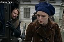Screen z filmu Doktor Živago. Ulice Mlýnská a Uhelná