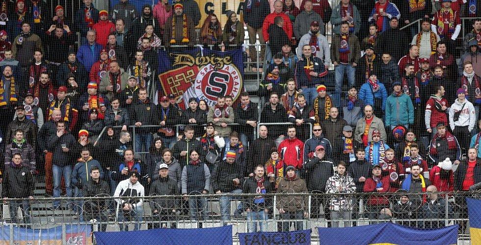 Fanoušci Sparty v Olomouci