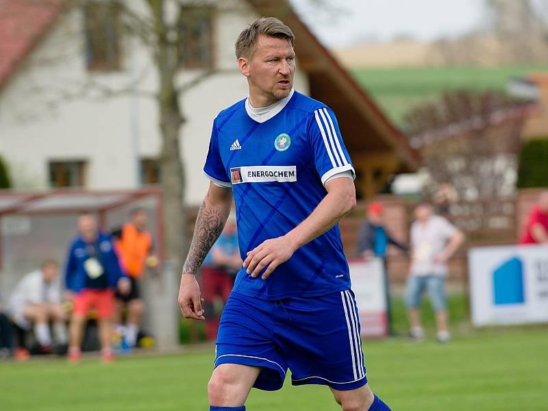 Marek Heinz v dresu Všechovic