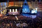 Dny evropského dědictví na Horním náměstí v Olomouci. Ilustrační foto