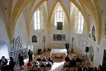 Slavnostní otevření gotické kaple sv. Jiří v Litovli