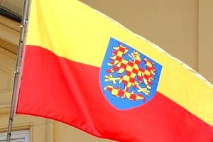 Moravská vlajka. Ilustrační foto