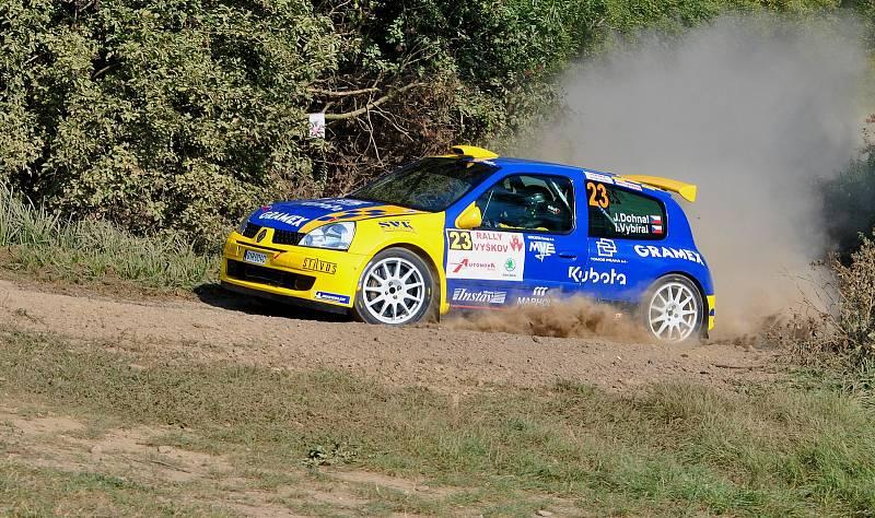Jan Dohnal na Rally Vyškov