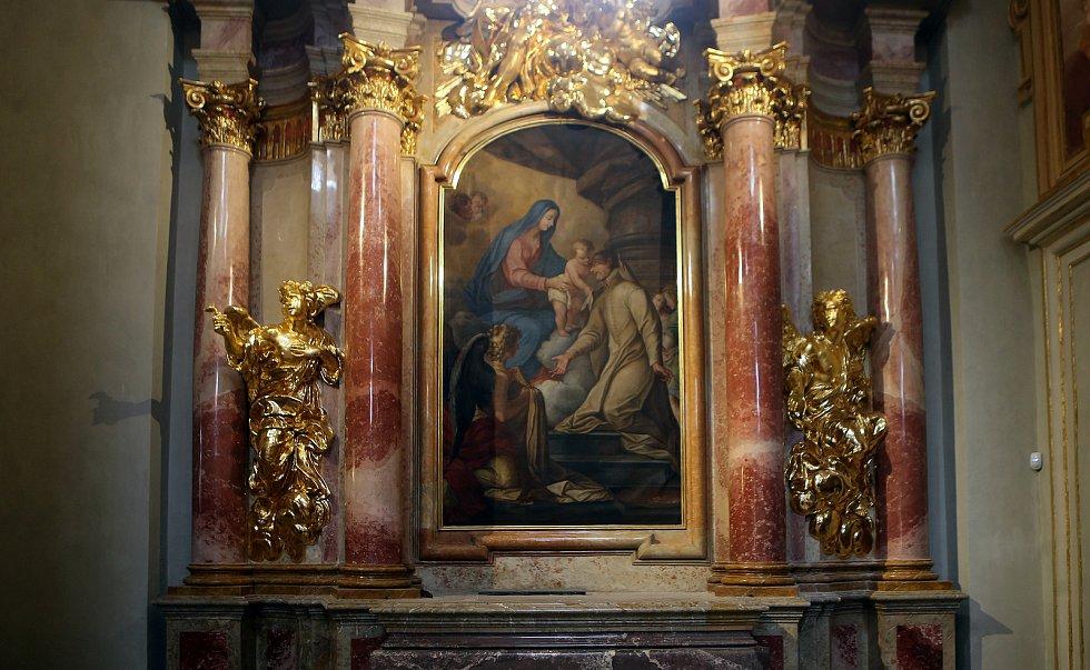 Restaurovaná bazilika Navštívení Panny Marie na Svatém Kopečku. Červen 2020