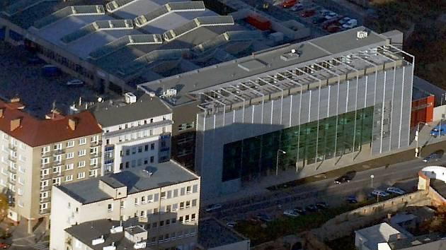 Rekonstruovaná budova bývalých tiskáren.