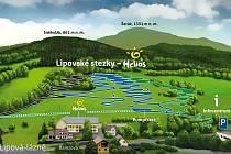 Panorama Lipovských stezek