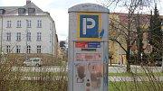 Parkovací automat v Olomouci