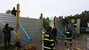 Povodně v Praze - pomoc hasičů z Olomouckého kraje