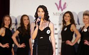 Nikola Hybrantová. Semifinále 6.ročníku soutěže Miss OK ve Velké Bystřici.