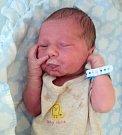 Patrik Kuba, Mladeč, narozen 19. června ve Šternberku, míra 49 cm, váha 3300 g