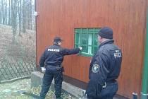 Kontrola zabezpečení chat v okolí Hluboček