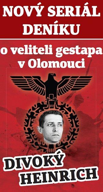 Nový seriál, který mapuje osudy druhého velitele gestapa vOlomouci Heinricha Gottschlinga.