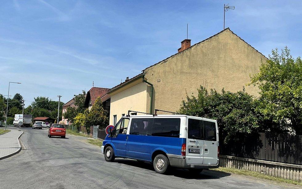 V Litovli začala kritická fáze rekonstrukce průtahu. Provoz na Pavlínce, 15. června 2021