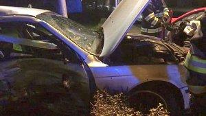 Nehoda v Hanušovicích, tři zranění