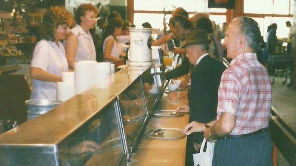Olomoucký Bufet Centrum v roce1986