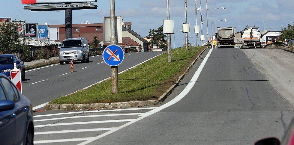 Částečná uzavírka ulice Přerovské a Rolsberské v Olomouci