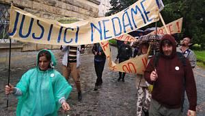 Demonstrace za nezávislost justice v Olomouci, 28.5.2019