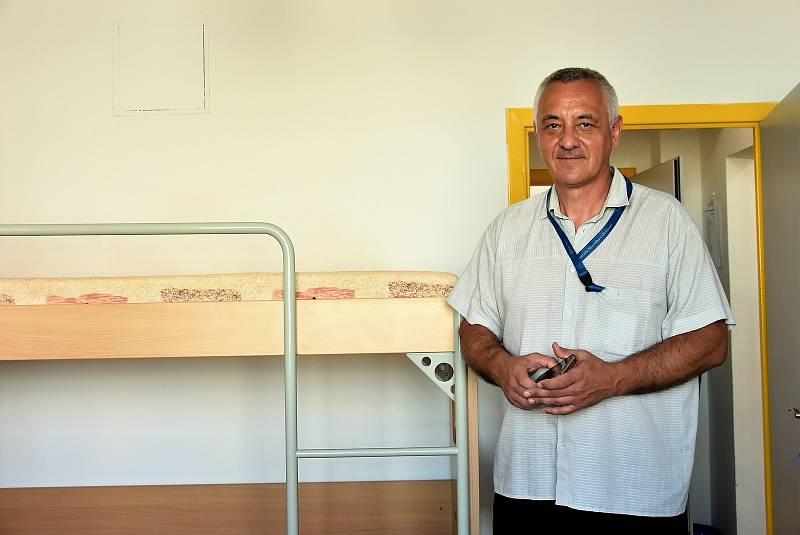 Josef Suchánek, ředitel Správy kolejí a menz UP
