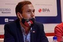 Marketingový manažer HC Olomouc Simon Vejtasa.