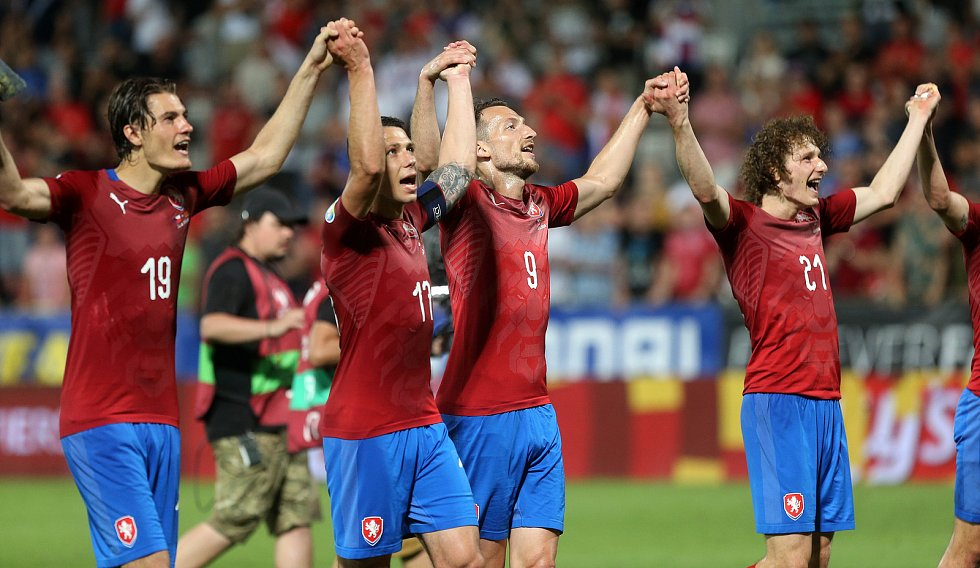 kvalifikace ME ČR - Černá Hora na Andrově stadionu v Olomouci