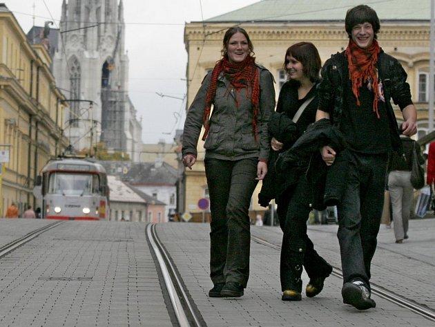 Studenti v Olomouci