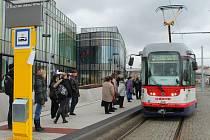 Nová tramvajová trať v Olomouci