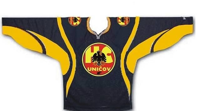 Uničovský dres na sezonu 2007/2008
