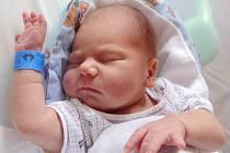 Michal Bič, Mariánské Údolí, narozen 22. června v Olomouci, míra 50 cm, váha 3160 g.