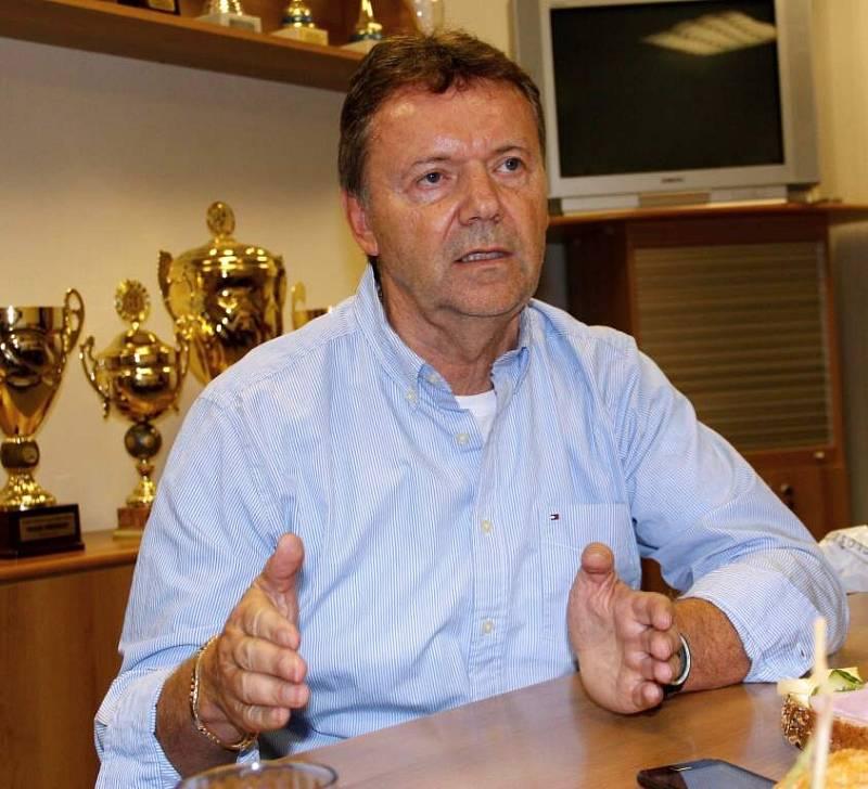 Místopředseda FAČR Roman Berbr v Olomouci