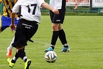 Fotbalisté Chválkovic. Ilustrační foto