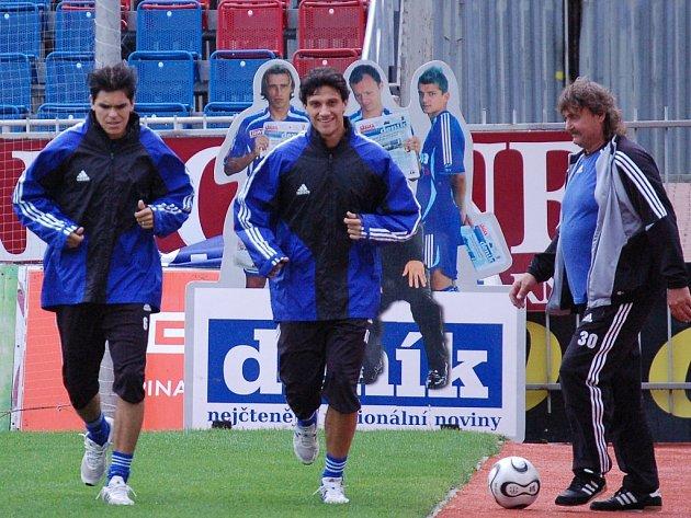 Daniel Rossi Silva (vpravo) a Daniel Marian Bueno.