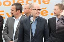 Oficiální zahájení kampaně ČSSD v Olomouci