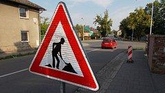 Křižovatka ulic Řepčínská a Křelovská v olomoucké městské části Řepčín