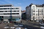 Budova bývalého polygrafického učiliště na třídě Svobody v centru Olomouce