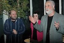 David Hrbek, Ivety A. Dučáková a Jindřich Štreit