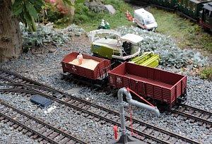 Pan Karel Váňa  a zahradní železnice ve Střížově