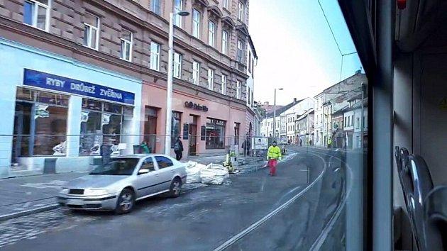 Ulicí 1. máje projela první tramvaj