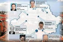 Povolební šéfové radnic měst na Olomoucku