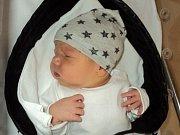 Tobiáš Pláteník, Moravské Knínice, narozen 27. února ve Šternberku, míra 49 cm, váha 3200 g