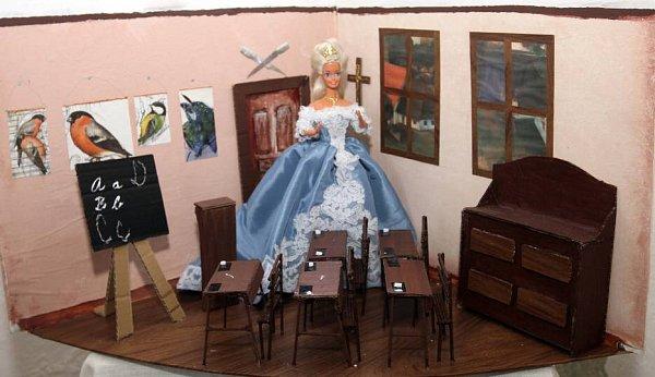 Barbie a Ken vdějinách na hradě Šternberk