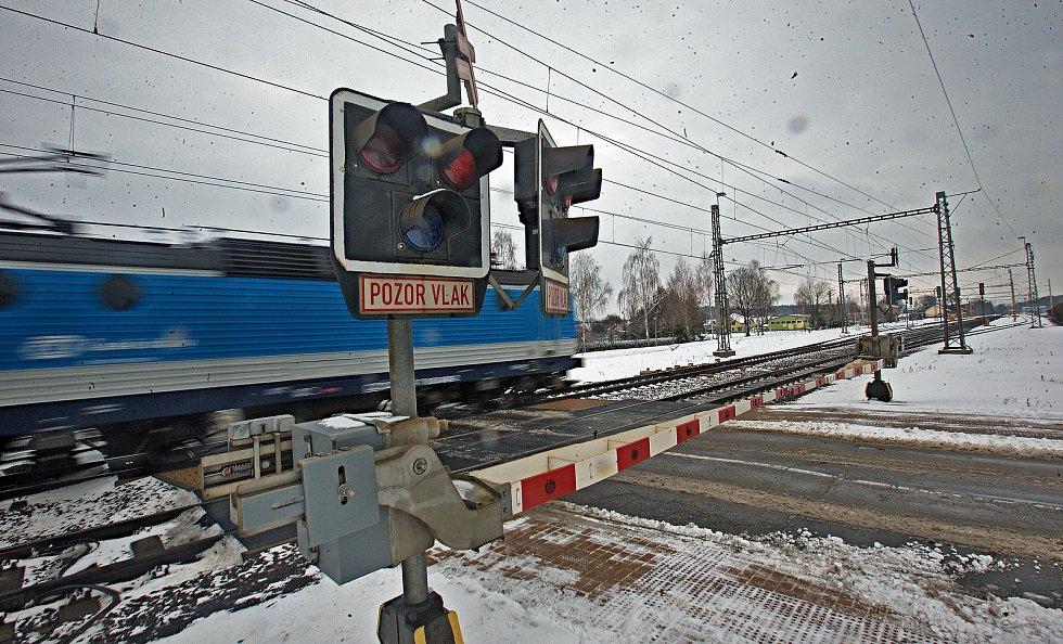 Železniční přejezd v Grygově nahradí podjezd.