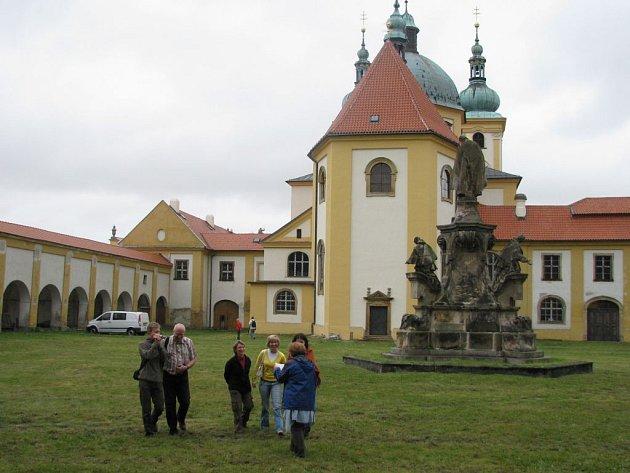 Areál baziliky na Sv. Kopečku