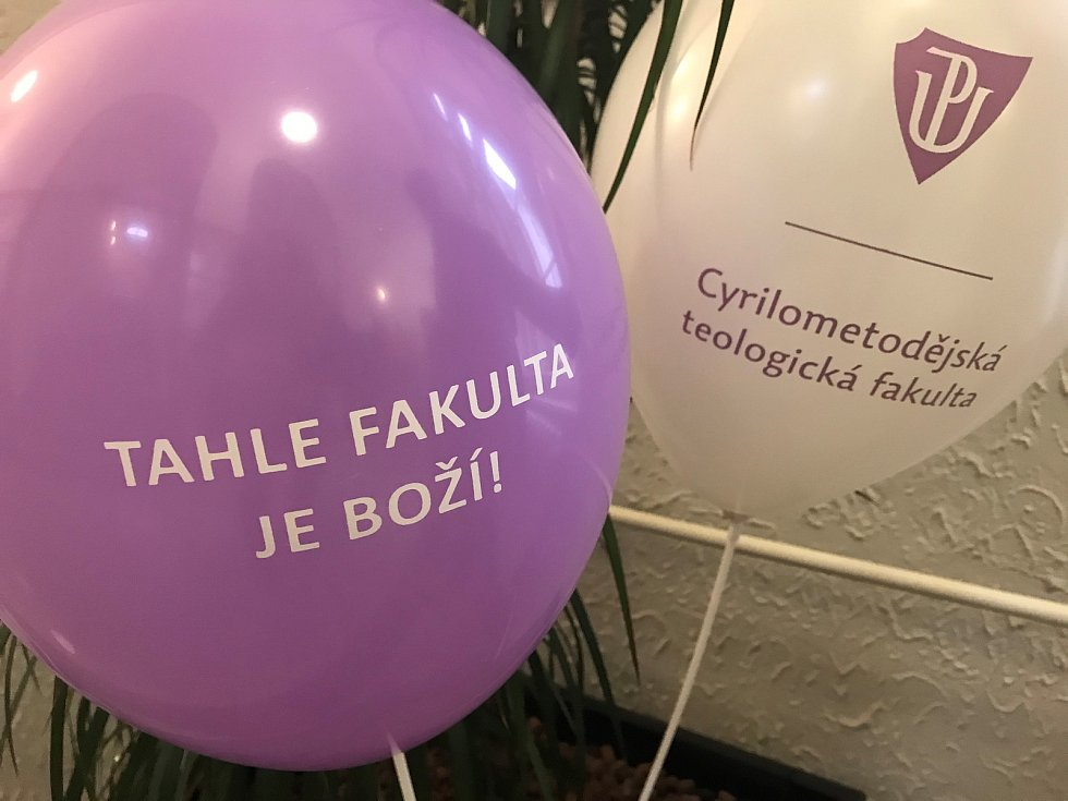 Den otevřených dveří na Univerzitě Palackého v Olomouci. Teologická fakulta