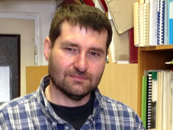 Martin Rulík zKatedry ekologie a životního prostředí Přírodovědecké fakulty Univerzity Palackého vOlomouci