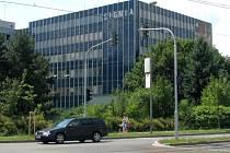 Budova Sigmia nedaleko hlavního nádraží - budoucí sídlo olomouckého úřadu práce