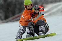 Malí snowboardisté