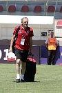 Jiří Vít jako masér amatérské reprezentace ČR na finále Regions Cupu v Turecku