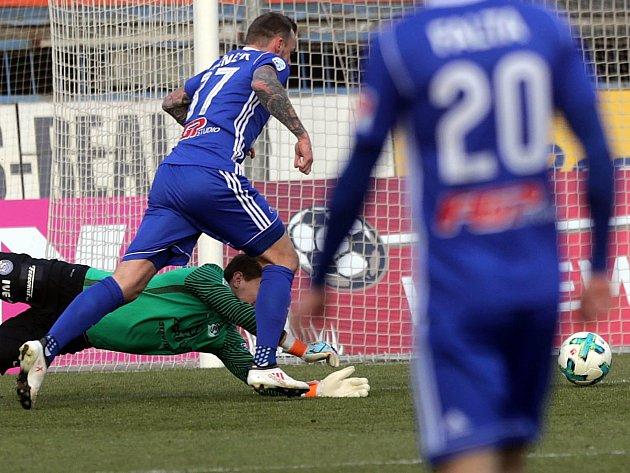 Milan Heča a Jakub Řezníček - gól