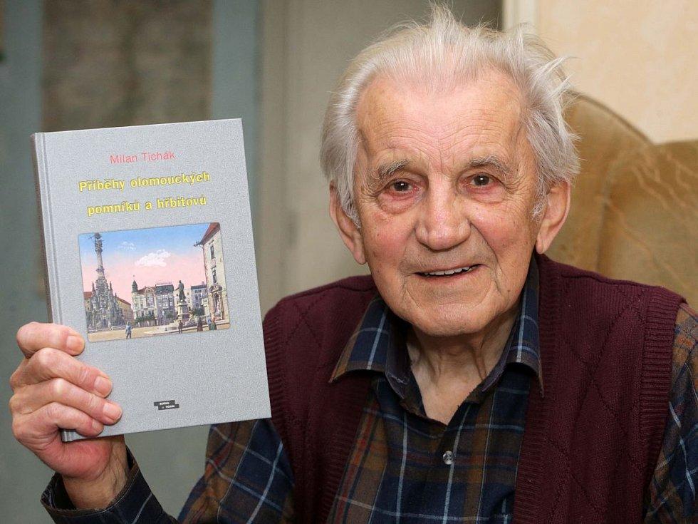 Historik, spisovatel a znalec Olomouce Milan Tichák