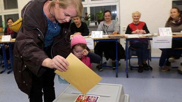 Volby 2016 na gymnáziu v Olomouci-Hejčíně
